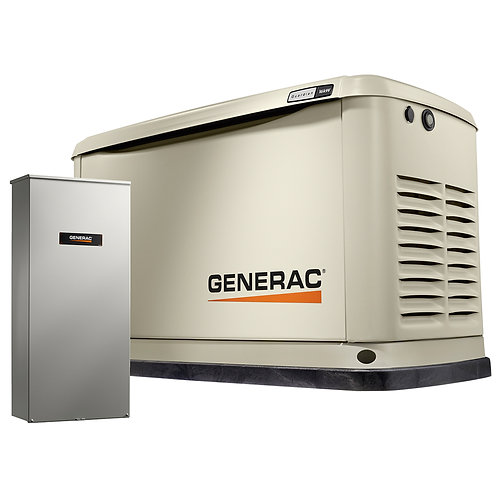 10KW Generac Stand Alone Generator with Auto Transfer Switch