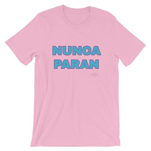 Camiseta Nunca Paran
