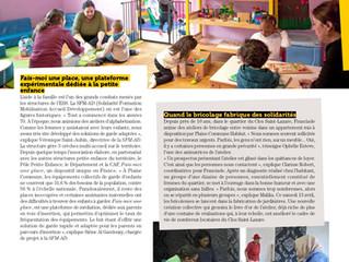 """En juin 2019, le magazine En Commun présentait notre projet """"Habiter, être habité"""" dans so"""