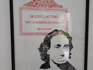 L'exposition de sérigraphies Empreintes est au musée Paul Eluard jusqu'au 13 janvier puis se pou