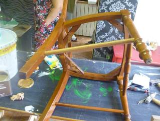 Les ateliers de bricolage et d'auto-réhabilitation d'appartements du projet Habiter ont repr