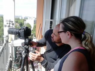 """""""La Basilique vue de chez moi"""" à Joliot Curie ! Avec le photographe Aiman Saad Ellaoui."""