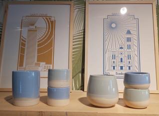 La nouvelle ligne de céramique Franciade par Louise Traon