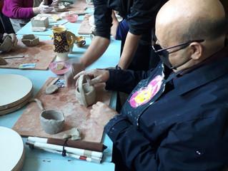 Archéologie sous la main, séance de découverte de la céramique