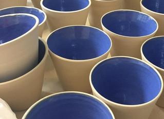 Nouvelle collection de céramiques par Aliénor Martineau