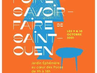 Foire des savoir-faire de Saint-Ouen les 9 & 10 octobre