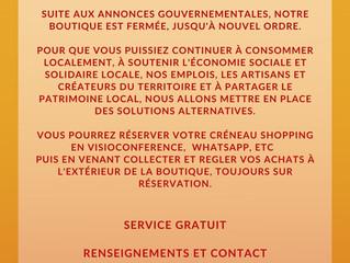 Cher-e-s Dionysiens-nes, clients-es, adhérents-es !