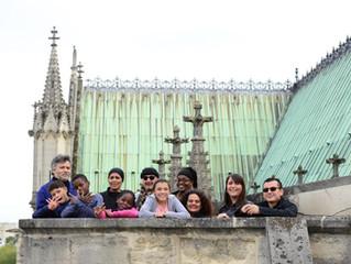 La basilique secrète est à nous ! Visite de la basilique jusqu'au clocher avec les participants