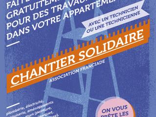 Projet Habiter, quartier du Moulins Neuf à Stains, les chantiers solidaires reprennent !
