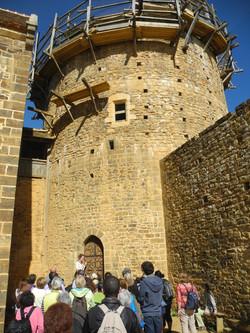 Visite de Guédelon