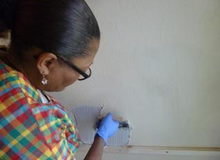 Petit retour en image sur les chantiers solidaires et les ateliers bricolage, menés au Clos St-Lazar