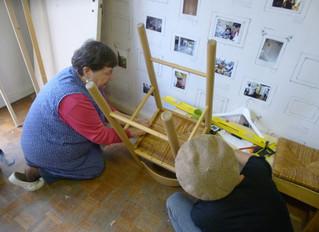 Franciade et l'action Habiter à stains  Aménagement et réparation mobilier : apprendre les geste