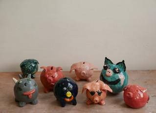 Reprise des cours de céramique adultes et enfants, avec Aliénor Martineau, le 20 septembre !