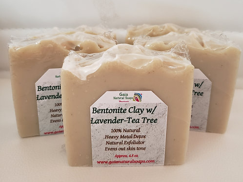 Bentonite Clay with Lavender-Tea Tree