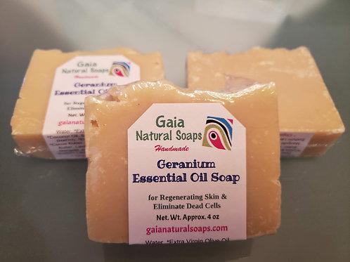 Geranium Essential Oil Soap