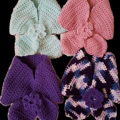 Hand-Crocheted Necky Scarf