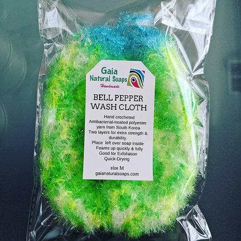 BELL PEPPER WASH CLOTH