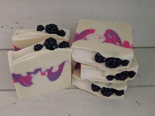 Black Raspberry Cold Process Soap