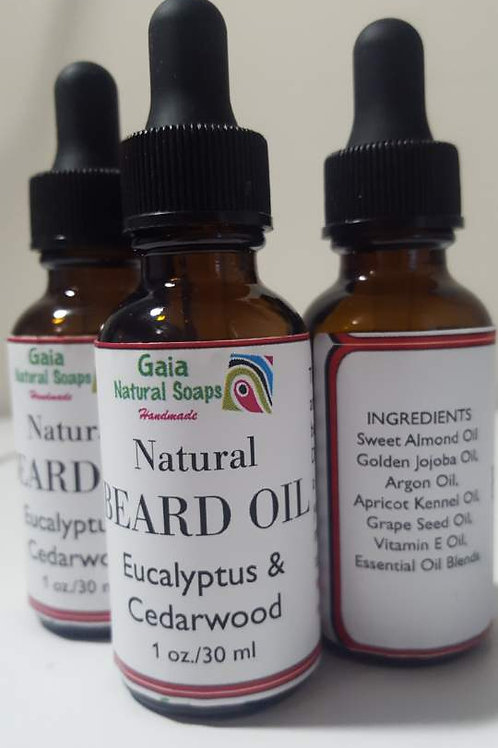 Natural Beard Oil (1 oz.)
