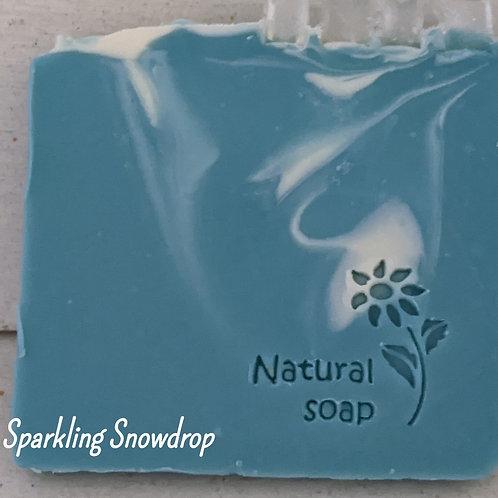 Sparkling Snowdrop Soap