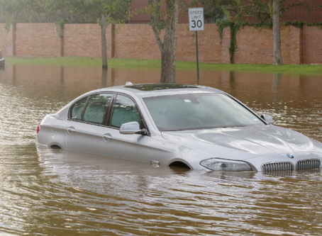 Car Gap Insurers facing surge in future flood write-off's