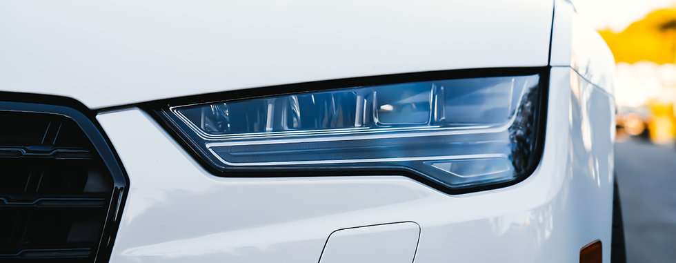 Audi car headlamp