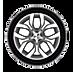 Alloy wheel icon