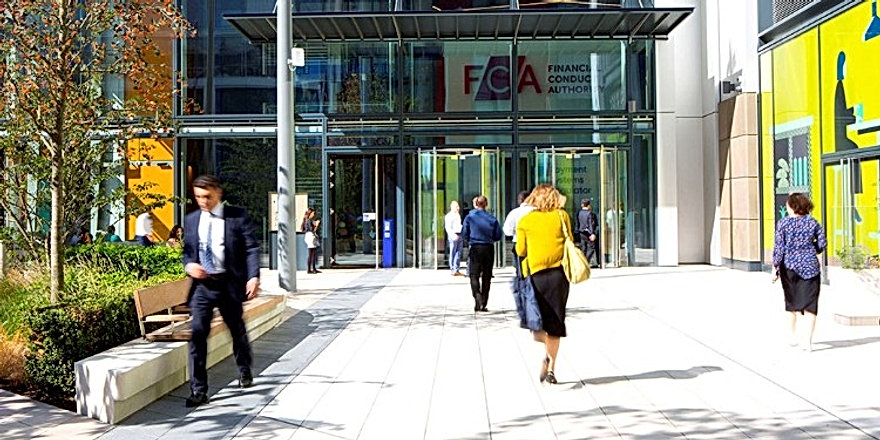 FCA building London