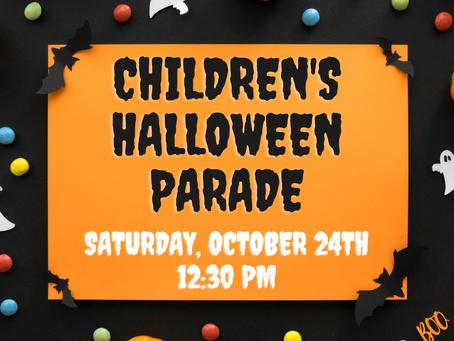 Children's Halloween Parade