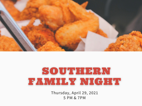 Southern Style Family Night