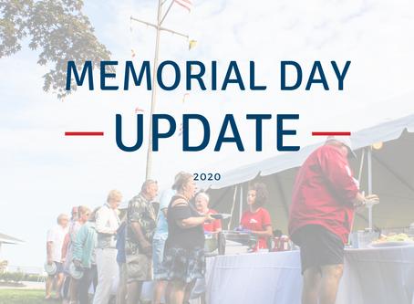 Memorial Day Update