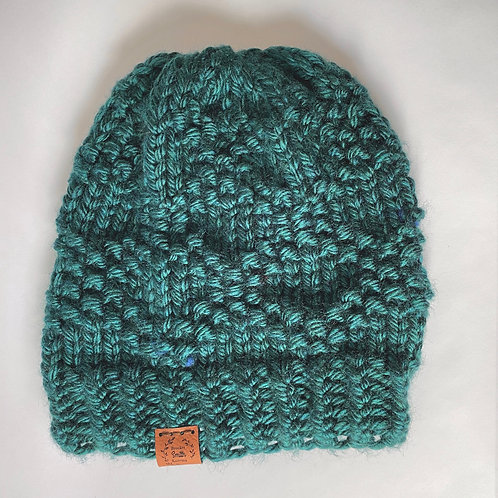 Brookes Smith Knitting - Teal Hat