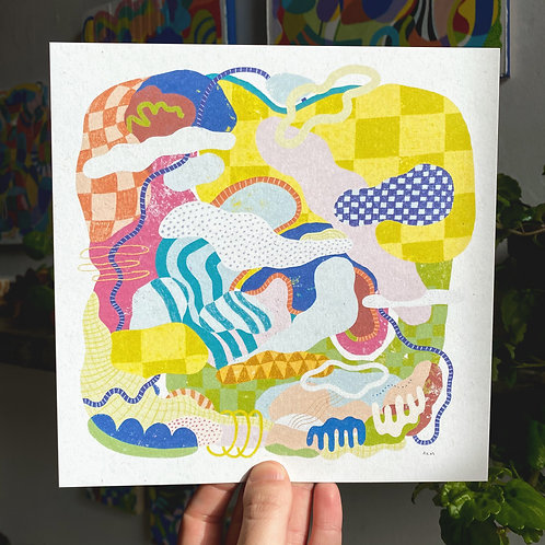 """Candy Island 2"" Print"