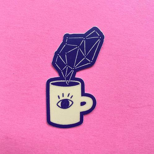 Cosmic Coffee Sticker