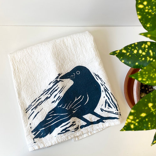Color.Joy Prints - Tea Towel - Crow