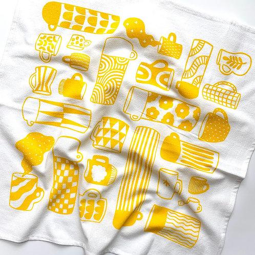 Tea Towel - Mug Collection