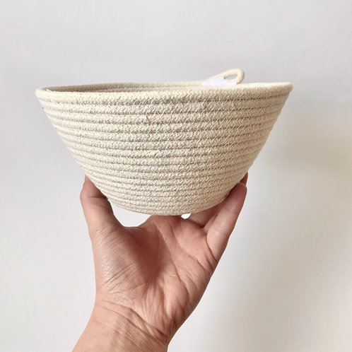Scout + Bean - Catch All Bowl - White