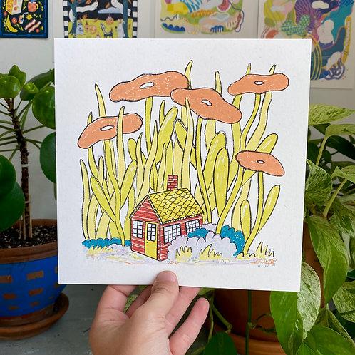 """Little House"" Print"