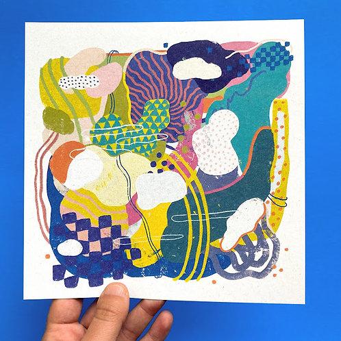 """Candy Island 1"" Print"