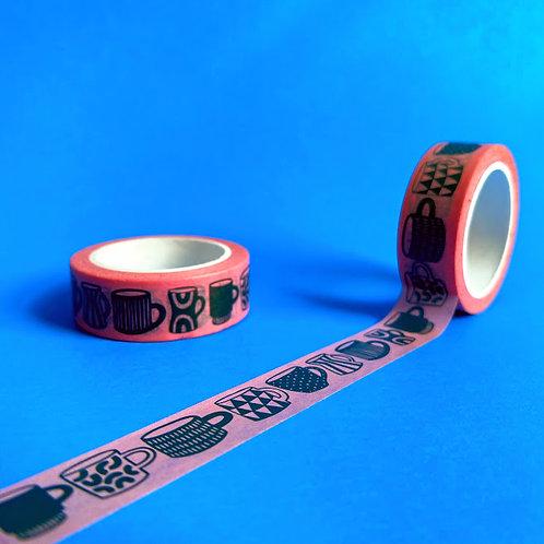 Washi Tape - Mugs