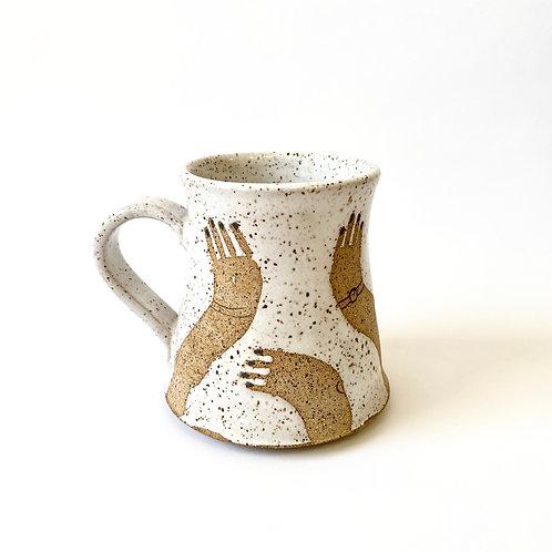 Whitney Gill - Ceramic Mug - Noodle Arms
