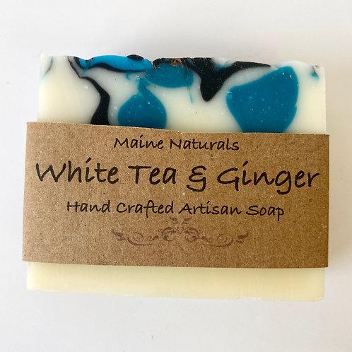 Maine Naturals - White Tea + Ginger Goats Milk Soap