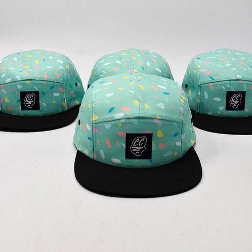 MINT FIVE PANEL CAP