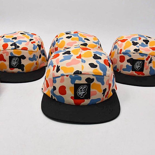 CAMO FIVE PANEL CAP