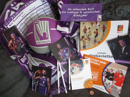 Sportliche Grüße von der BG Göttingen