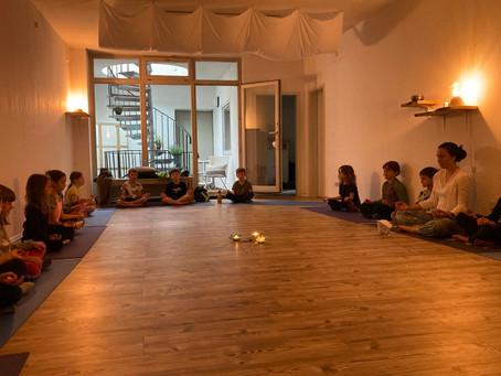 Zu Gast im Yogastudio