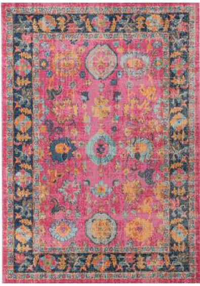 Rug Modern Eternal Pink 3
