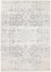Rug Modern Evoke White Silver