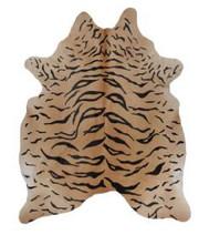 Rug Cowhide Tiger
