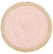 Rug Round Atrium Pink